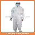 el ébola traje de protección a prueba de agua pijama de trabajo de seguridad retardante de fuego sobretodo desechables