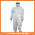 ebola suit protective waterproof pajamas working safety fire retardant disposable coverall
