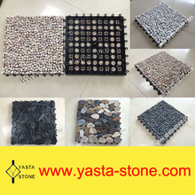 Pebble Tile Water Permeable Natural Pebble Stone Paver