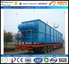 50m3/hr. industrial wastewater treatment plant, daf for cleaning sewage water