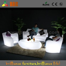 Multicolor IR Remote Control Rechargeable Waterproof Outdoor Sofa