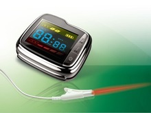 Wholesale New Three High and diabetics 10 lasers and 1 nasal cavity laser beam blood pressure wrist watch