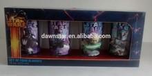 wholesale dishwasher safe 16 oz 4 Pk pint glass display box