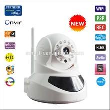H.264 Motion decetion wifi network wireless HD 720P web Camera/P2P & night vision /IR -CUT wifi IP camera