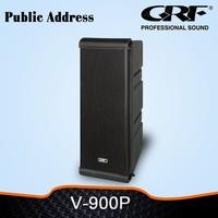 GRF mini line array background music speaker for Church