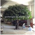 New design 12ft árvore Artificial ao vivo Ficus bonsai, Artificial figueira para casa e decoração do Hotel