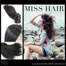 Wholesale virgin remi huamn hair bundle tresses hair
