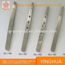 tweezers/Cheap Wholesale slanted tip eyebrow tweezers