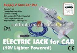 Wireless Remote Control Electric Scissor Jack