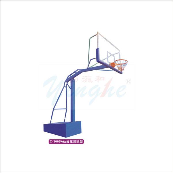 2014 markası- yeni en iyi fiyat düz kutu kopyalama hidrolik basketbol standı