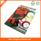 pp cover spiral notebook,school notebook ,cmyk print spiral notebook
