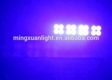16pcs 3w led uv black bar light with dmx YS-526