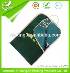 non-woven suit cover storage bag for men suit suit bag travel