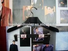 Luxury Exported Travel Hanger Black