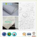 150 gsm peso total 100% algodão composição camisa de tecido laminado com tpu impermeável