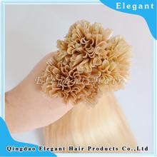 Hot sale human hair fusion U tip hair extension