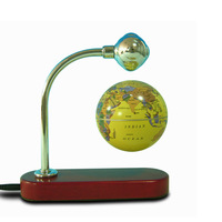 Illusionist Magnetic Levitation inflatable globe ball, glass globe vaporizer