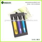 GreenSound ego 2200mah battery ego battery LED buttom wholesale ecig battery led lights