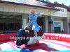 inflatable bull riding machine, soft head mechanical bull riding toys