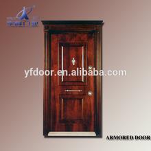 microwave sensor automatic sliding door/armored room doors/acrylic hotel room door signs