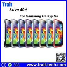 Trait Company! LOVE MEI Aluminium Metal Bumper Frame Case for Samsung Galaxy S5 I9600 G900 (8 colors optional)