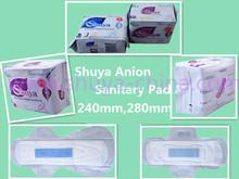 Oem confort féminine anions serviette hygiénique