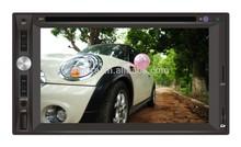 Good quality 6.2 inch Universal car audio/2 din car dvd player car audio/with stereo radio am fm car audio