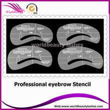 4 styles in one bag eyebrows/eyebrow extensions shaping kit