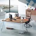 mesa de escritório altura ajustável com pés cônicos