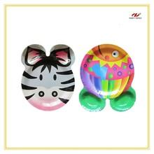 Custom Printed Animal Shape Paper Plates