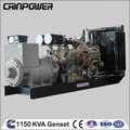 1125kva ouvert type 3 phase kipor générateurs ensemble pour la maison avec prix
