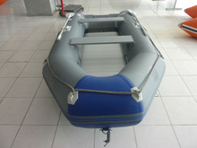 6 persons inflatable boat with ce Dark grey and sapphire blue