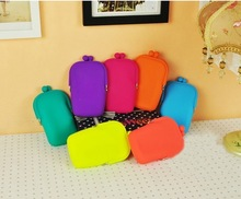 Silicone Bag Manufacturer rope handle telephone case purse