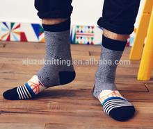 Custom Fashion Men Socks Sport Socks Basketball Sock