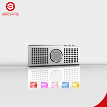 Alibaba China Supplier Ultra Thin Wireless Bluetooth Speaker with Built-in Mic, Enhanced Bass Resonator