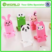 Korea style cute animals logo Silicone desktop mobile phone holder