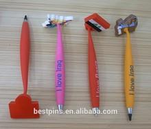 3D cute decorative rubber magnetic ballpoint pen (BS-JL-MP-14121502)