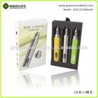 Huge vapor ego battery 2200mah vapor pen ego battery ecig wholesale ecig changeable 2200mah