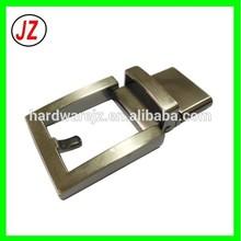 wholesale custom man fashion western reversible buckle, Zamak America style belt accessories factory metal buckles