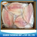 Negro Tilapia congelados filete de carne de pescado orgánico HACCP producto