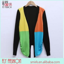 DC216-1# 2014 Online Wholesale Shop Women Colourful Sweater Cardigan