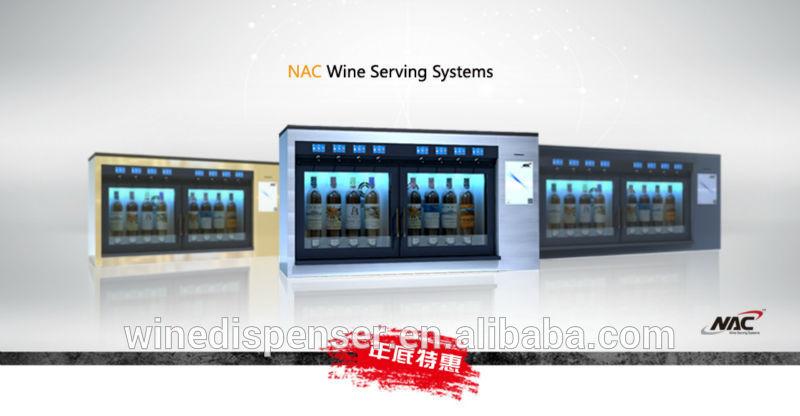 Refrigerated Wine Dispenser Led Refrigerated Wine