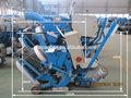 La pista del aeropuerto de marcado de la línea/de tubos de acero de la oxidación de granallado máquina