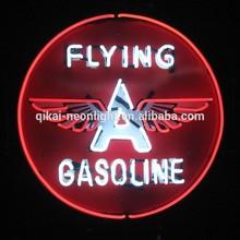 Flying red advertising indoor neon sign