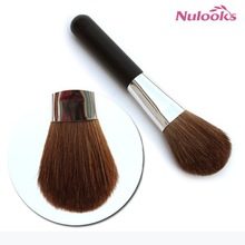 man-made hair small makeup brush used for powder blush and eyeshadow