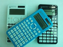 High quality slide cover solar and battery power scientific calculator