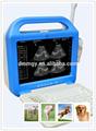 Xf-us-lcd VET scanner & diagnostic ultrasound máquina de ultra-som portátil
