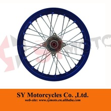 pit bike parts pit bike 14 inch alloy rear wheel rims