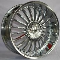 light colors chrome car wheels with 20inch fit for suv car.