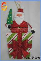 Santa Claus hanging christmas angels decorations